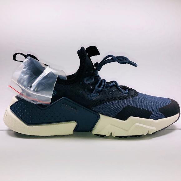 quality design ddb74 612fb Nike Air Huarache Drift Thunder Blue   Black Shoes